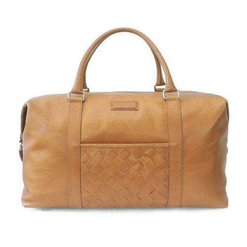 sustainable luxury excess leather weekender