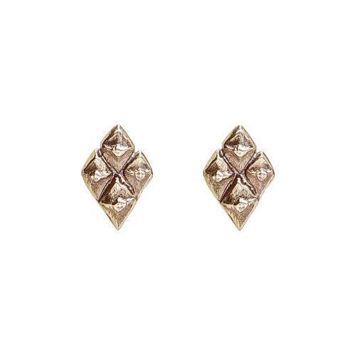 Pihka Earrings Small Bronze
