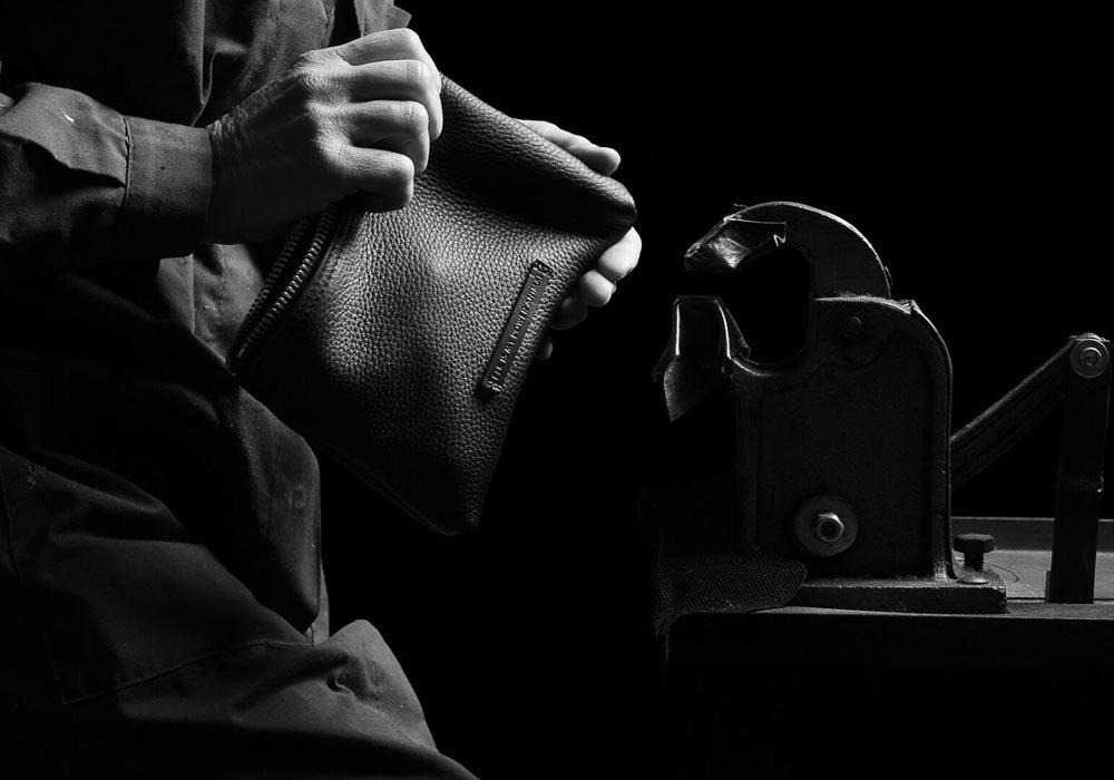 ethical luxury bag production