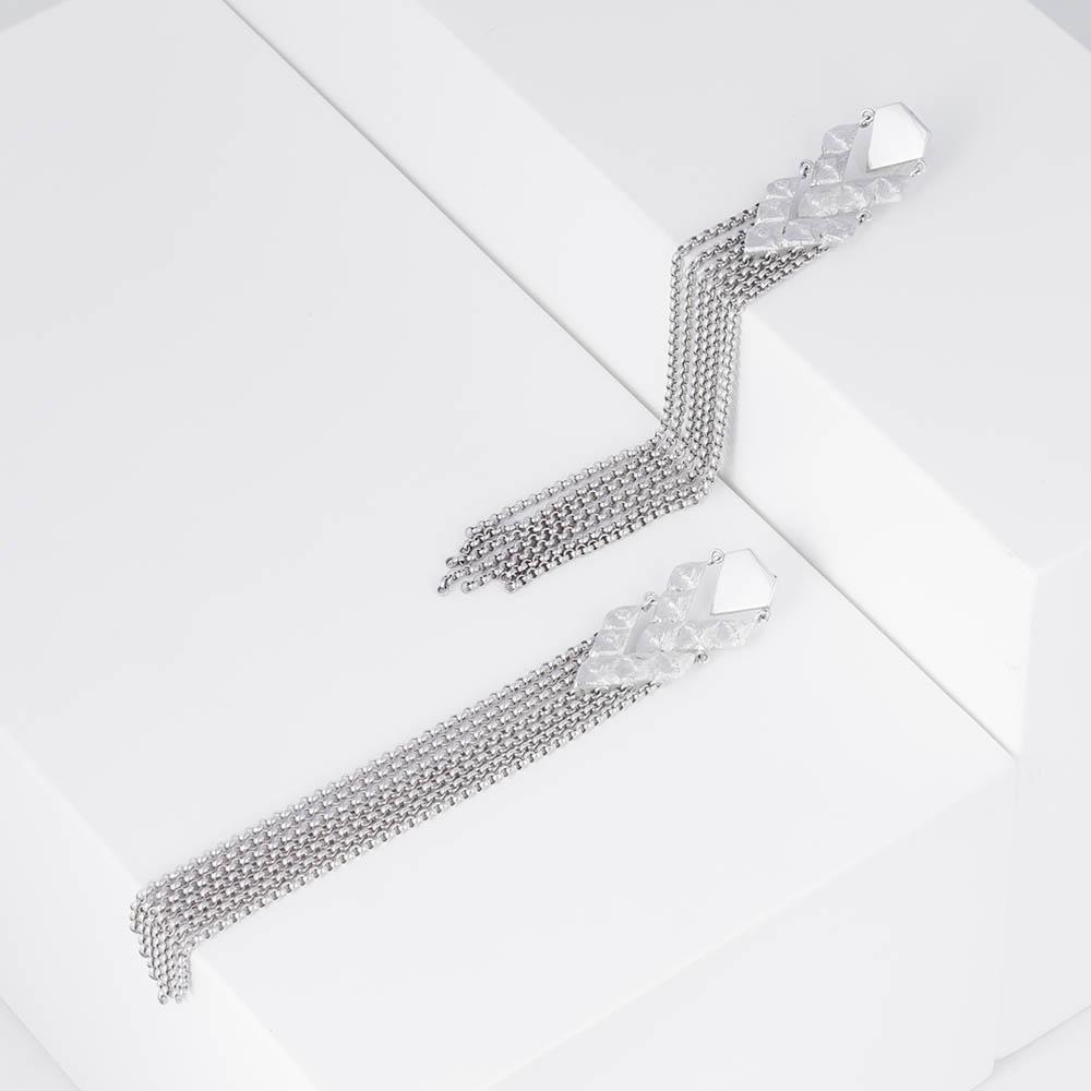 lovia_havu_double_earring_silver